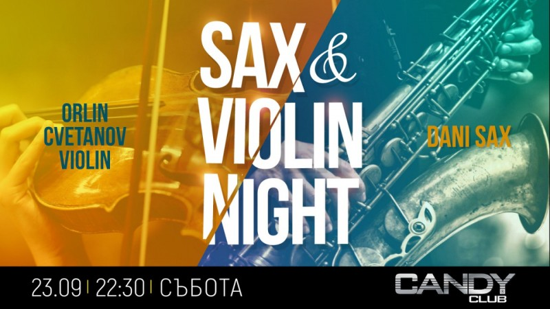 Sax & Violin Night