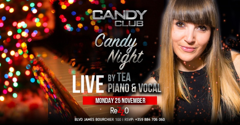 Candy Night by Tea Live Piano & Vocal